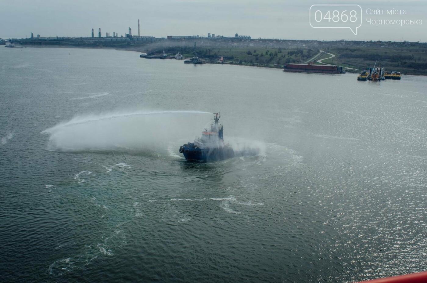 Контейнерный терминал ТИС принял первое судно нового сервиса Maersk, фото-5