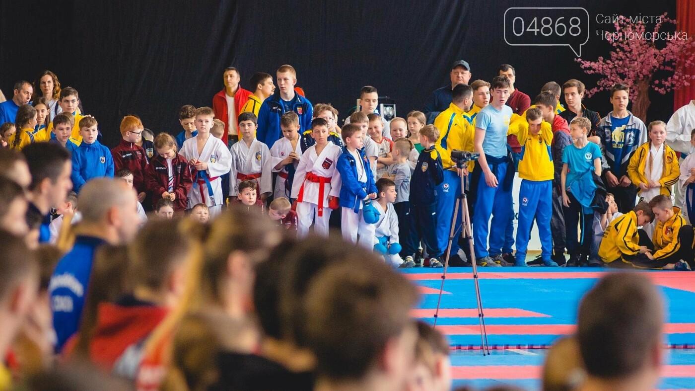 В Черноморске прошел Международный турнир по карате, фото-8
