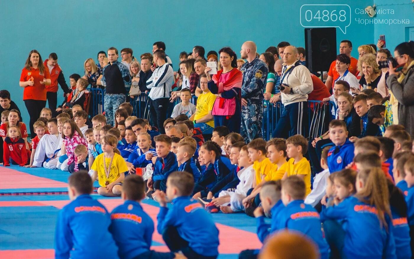 В Черноморске прошел Международный турнир по карате, фото-9