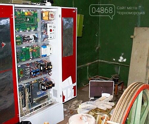 В Черноморске снова воруют электромагнитные катушки, фото-3