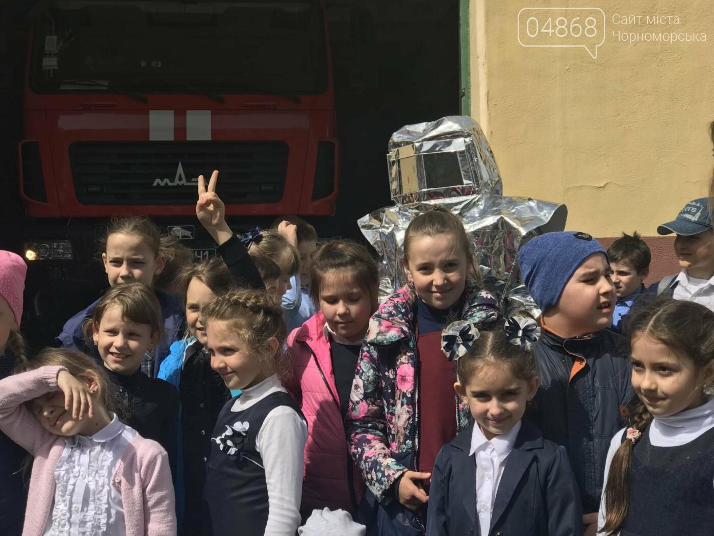"""Черноморские спасатели провели общественную акцию """"Предотвратить. Спасти. Помочь"""" (фото), фото-2"""