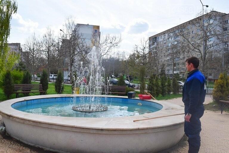 С наступлением весны в Черноморске снова заработают фонтаны, фото-5
