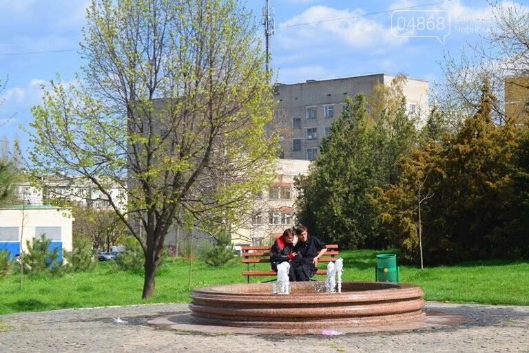С наступлением весны в Черноморске снова заработают фонтаны, фото-8