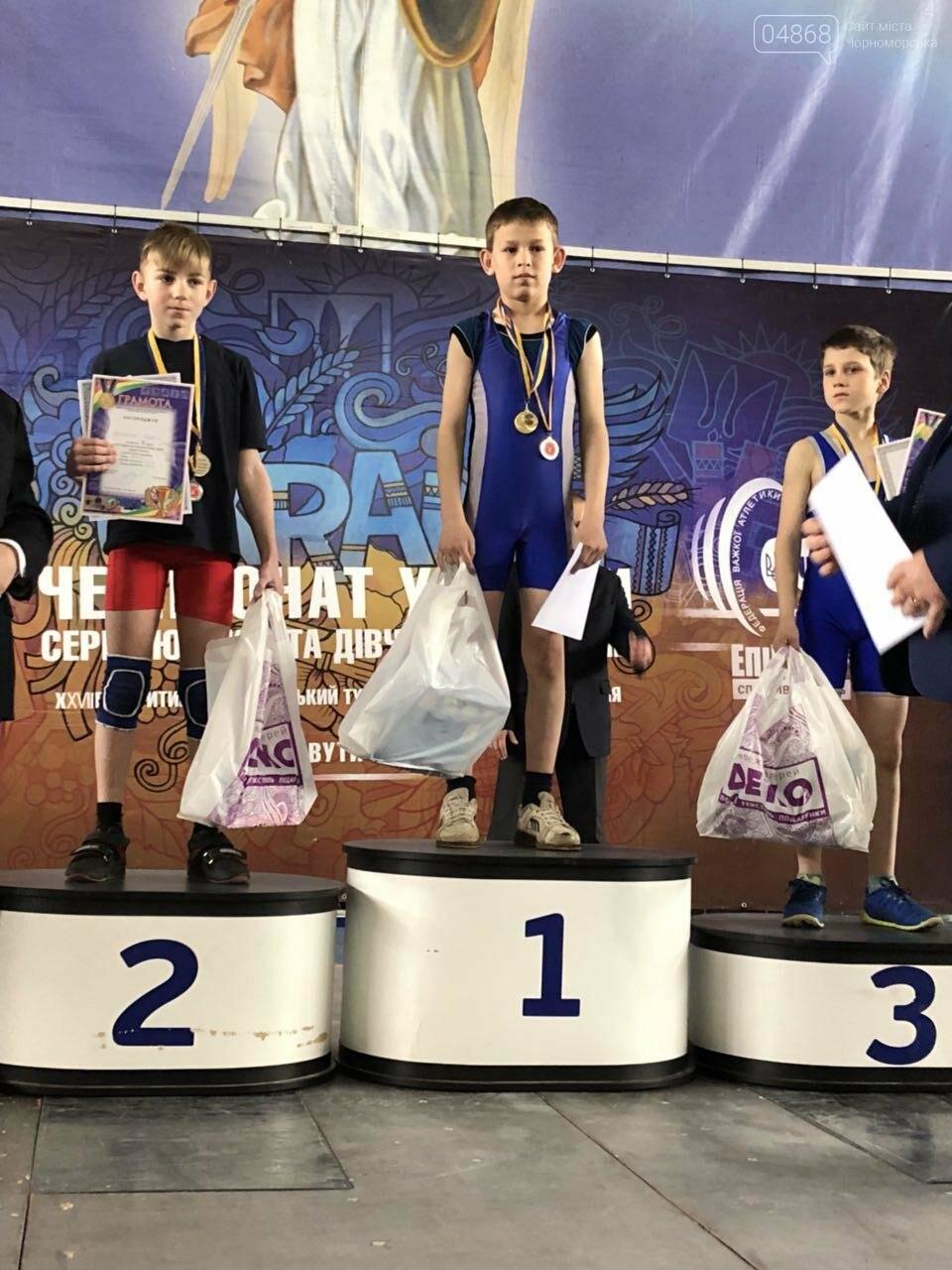 Черноморская команда по тяжёлой атлетике блестяще выступила на Чемпионате Украины, фото-2