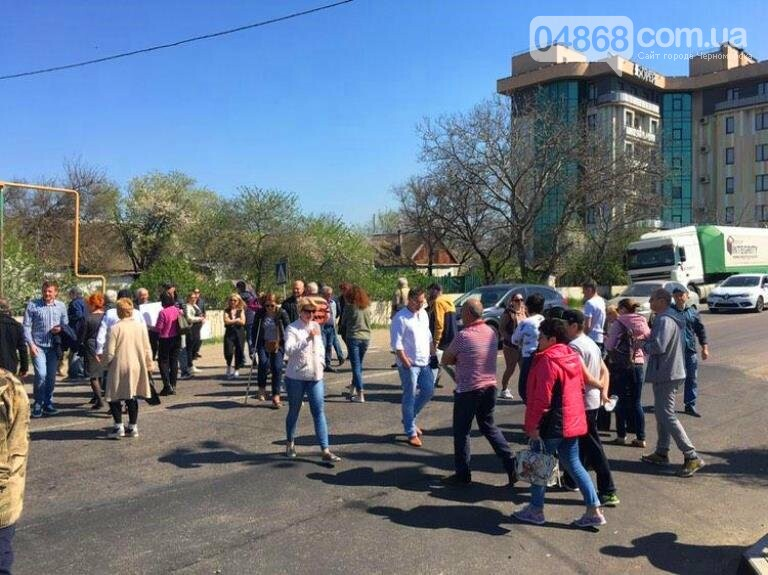 Протест жителей Совиньона привёл к грандиозной пробке на трассе Черноморск – Одесса, фото-3