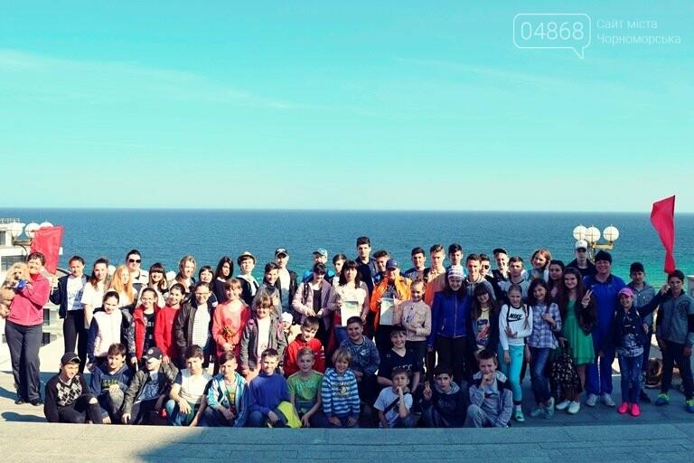 «А вы смогли бы?» В Черноморске провели легкоатлетический забег по Приморской лестнице, фото-10
