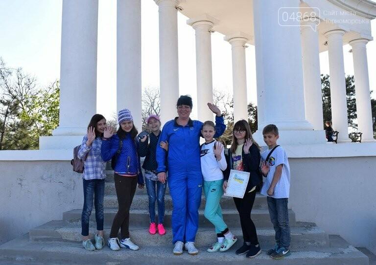 «А вы смогли бы?» В Черноморске провели легкоатлетический забег по Приморской лестнице, фото-11