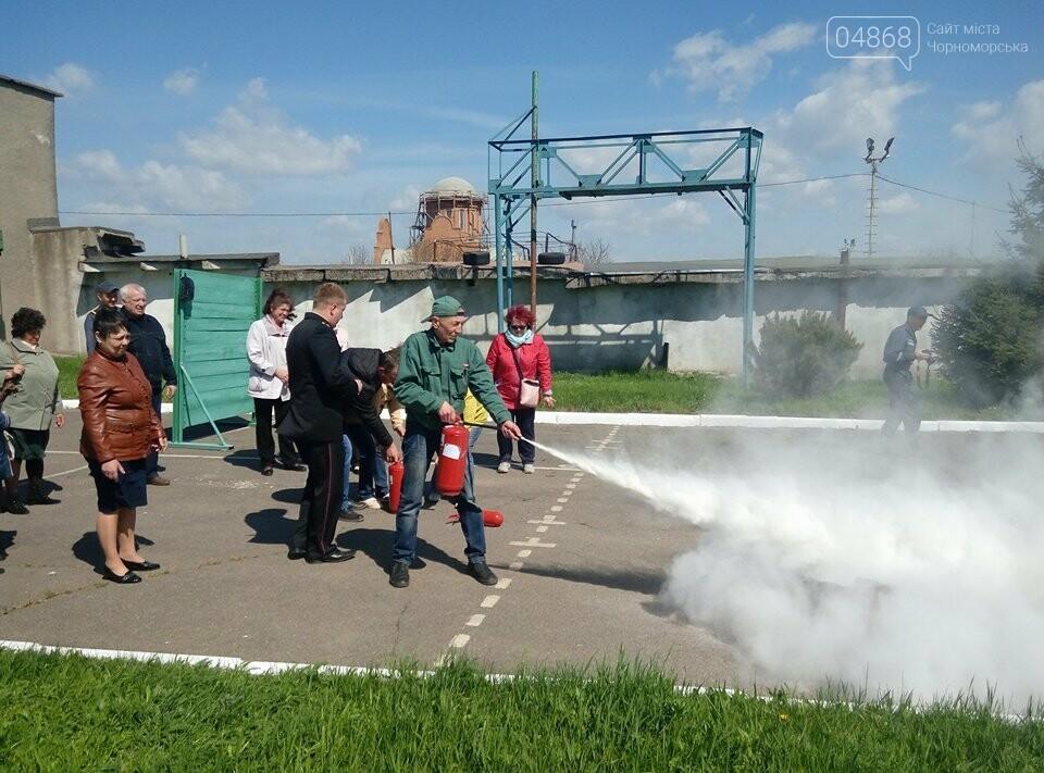 В Черноморской поликлинике тушили условный пожар (фото)), фото-8