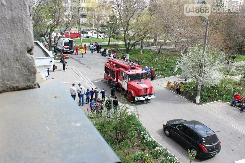 В Черноморской поликлинике тушили условный пожар (фото)), фото-5