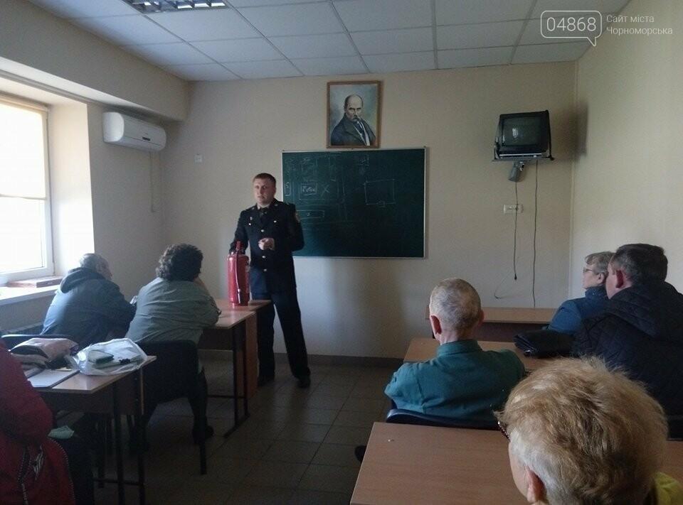 В Черноморской поликлинике тушили условный пожар (фото)), фото-3