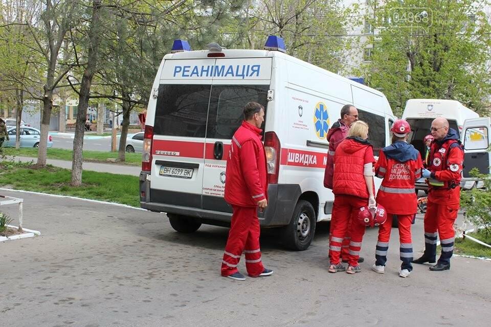 В Черноморской поликлинике тушили условный пожар (фото)), фото-7