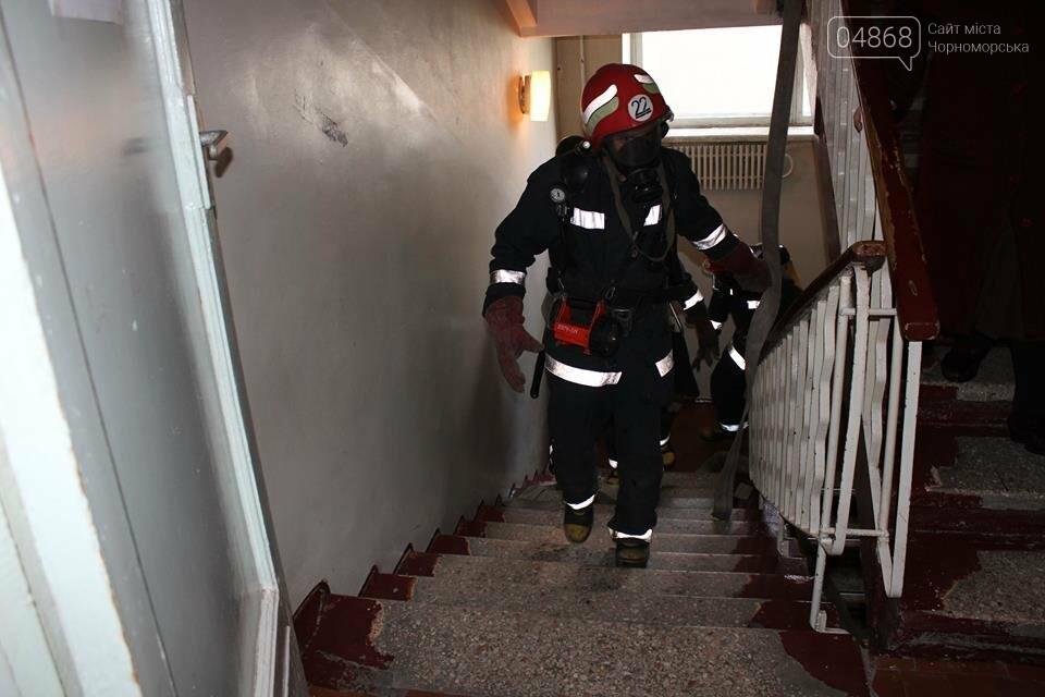 В Черноморской поликлинике тушили условный пожар (фото)), фото-4
