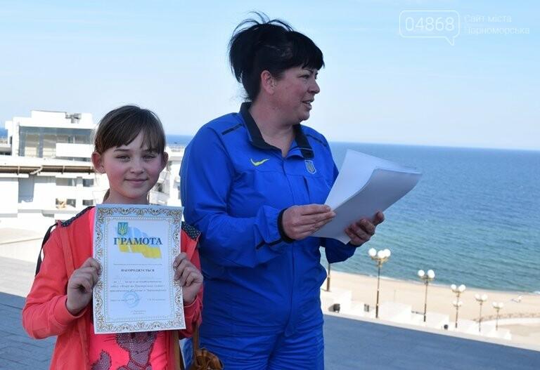 «А вы смогли бы?» В Черноморске провели легкоатлетический забег по Приморской лестнице, фото-12
