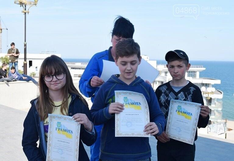 «А вы смогли бы?» В Черноморске провели легкоатлетический забег по Приморской лестнице, фото-14