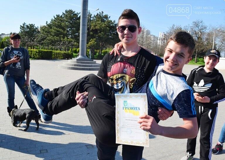 «А вы смогли бы?» В Черноморске провели легкоатлетический забег по Приморской лестнице, фото-8