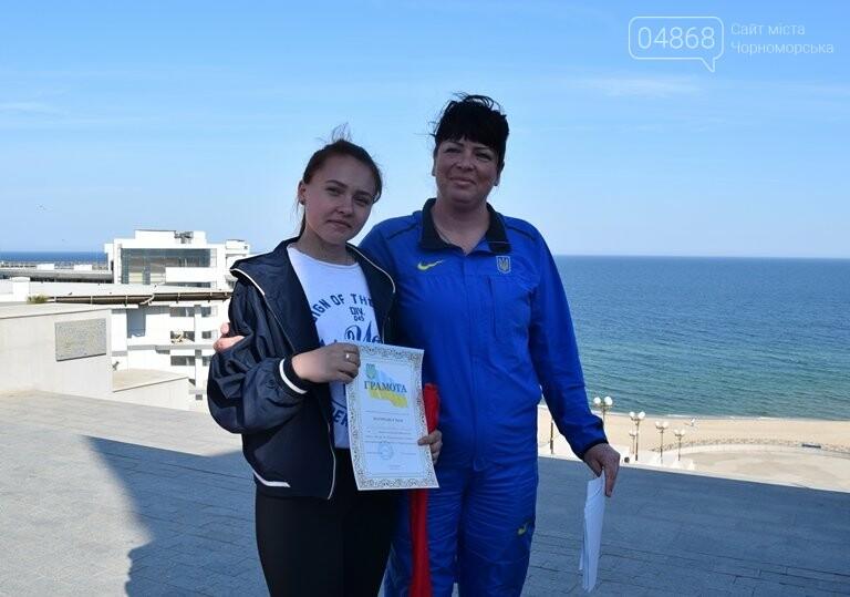 «А вы смогли бы?» В Черноморске провели легкоатлетический забег по Приморской лестнице, фото-16