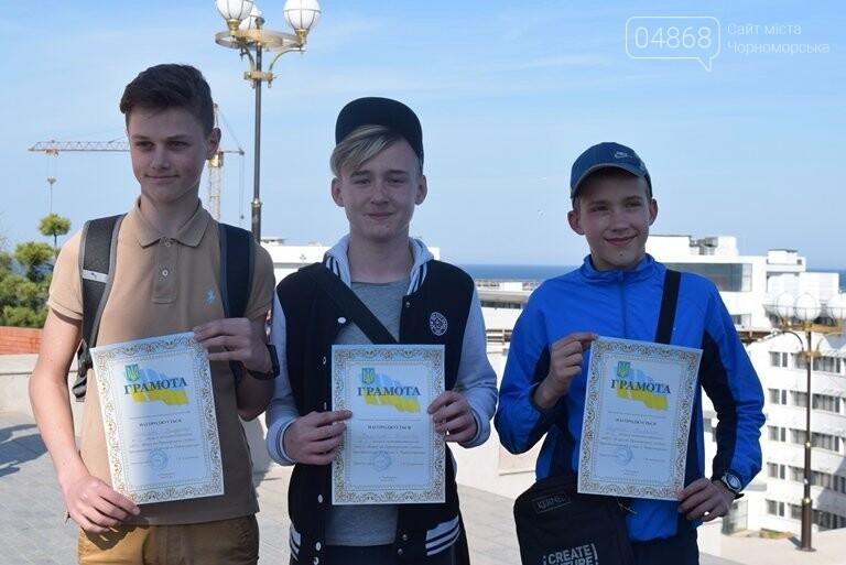«А вы смогли бы?» В Черноморске провели легкоатлетический забег по Приморской лестнице, фото-6