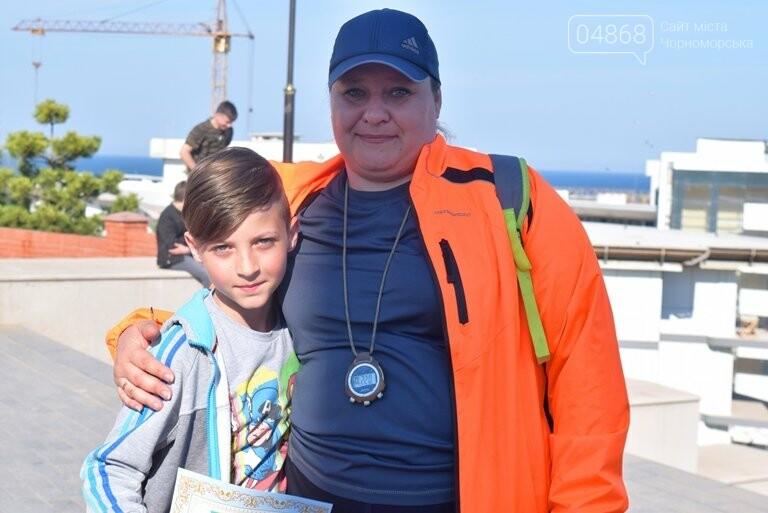 «А вы смогли бы?» В Черноморске провели легкоатлетический забег по Приморской лестнице, фото-18