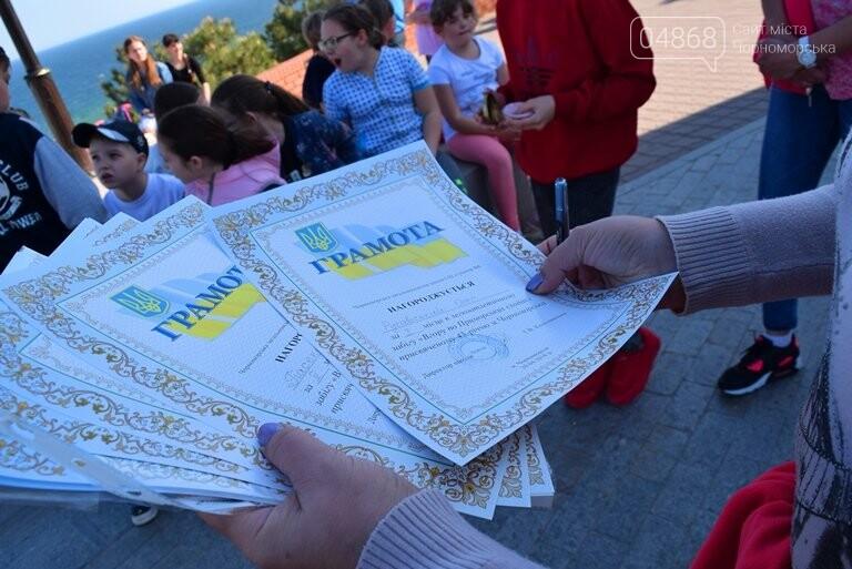 «А вы смогли бы?» В Черноморске провели легкоатлетический забег по Приморской лестнице, фото-31