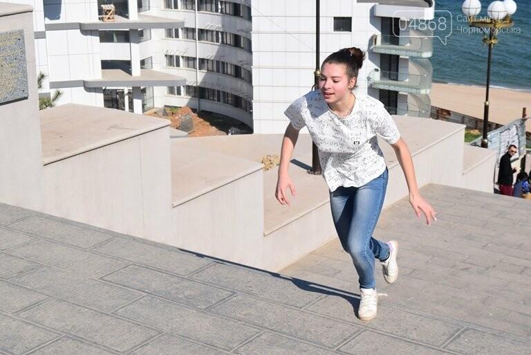 «А вы смогли бы?» В Черноморске провели легкоатлетический забег по Приморской лестнице, фото-20