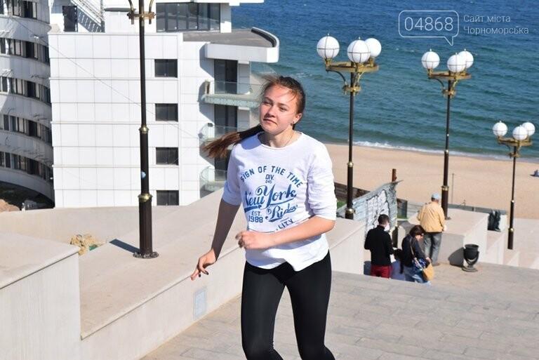 «А вы смогли бы?» В Черноморске провели легкоатлетический забег по Приморской лестнице, фото-21