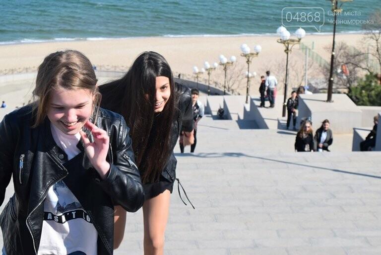 «А вы смогли бы?» В Черноморске провели легкоатлетический забег по Приморской лестнице, фото-4