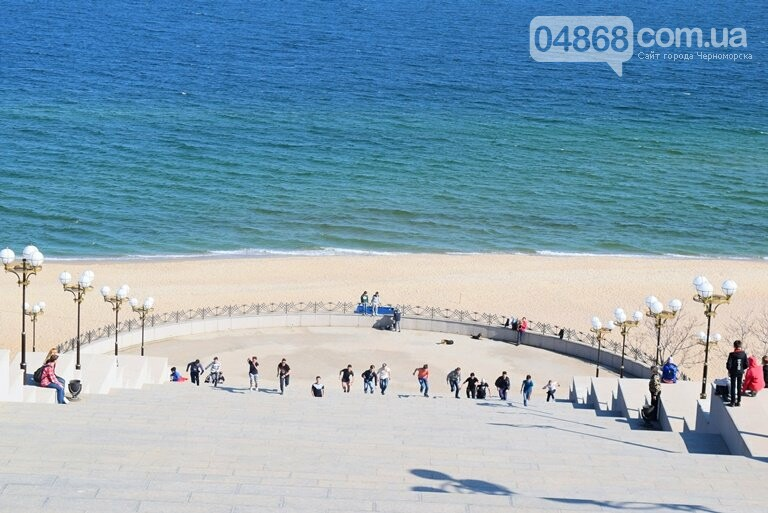 «А вы смогли бы?» В Черноморске провели легкоатлетический забег по Приморской лестнице, фото-3