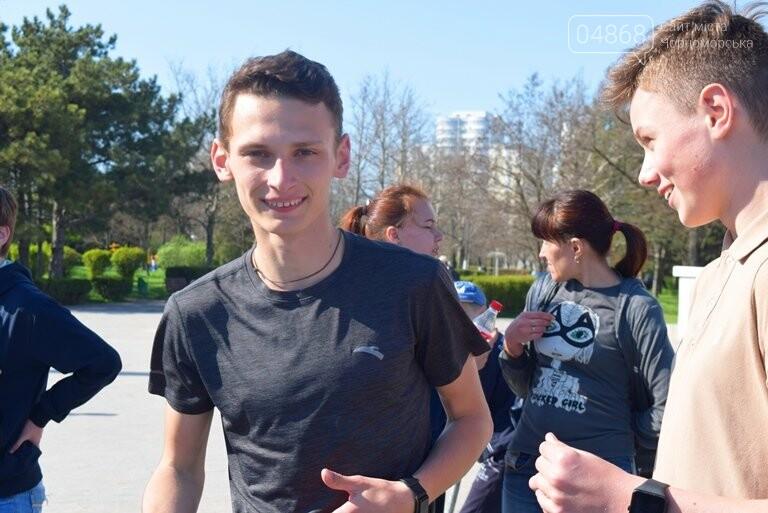 «А вы смогли бы?» В Черноморске провели легкоатлетический забег по Приморской лестнице, фото-25