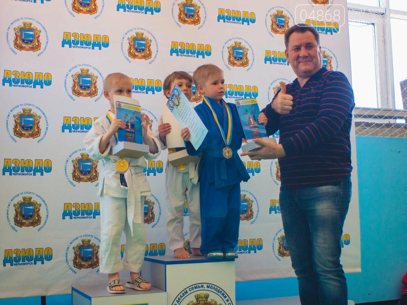 В Черноморске прошел турнир по дзюдо на Кубок мэра, фото-17