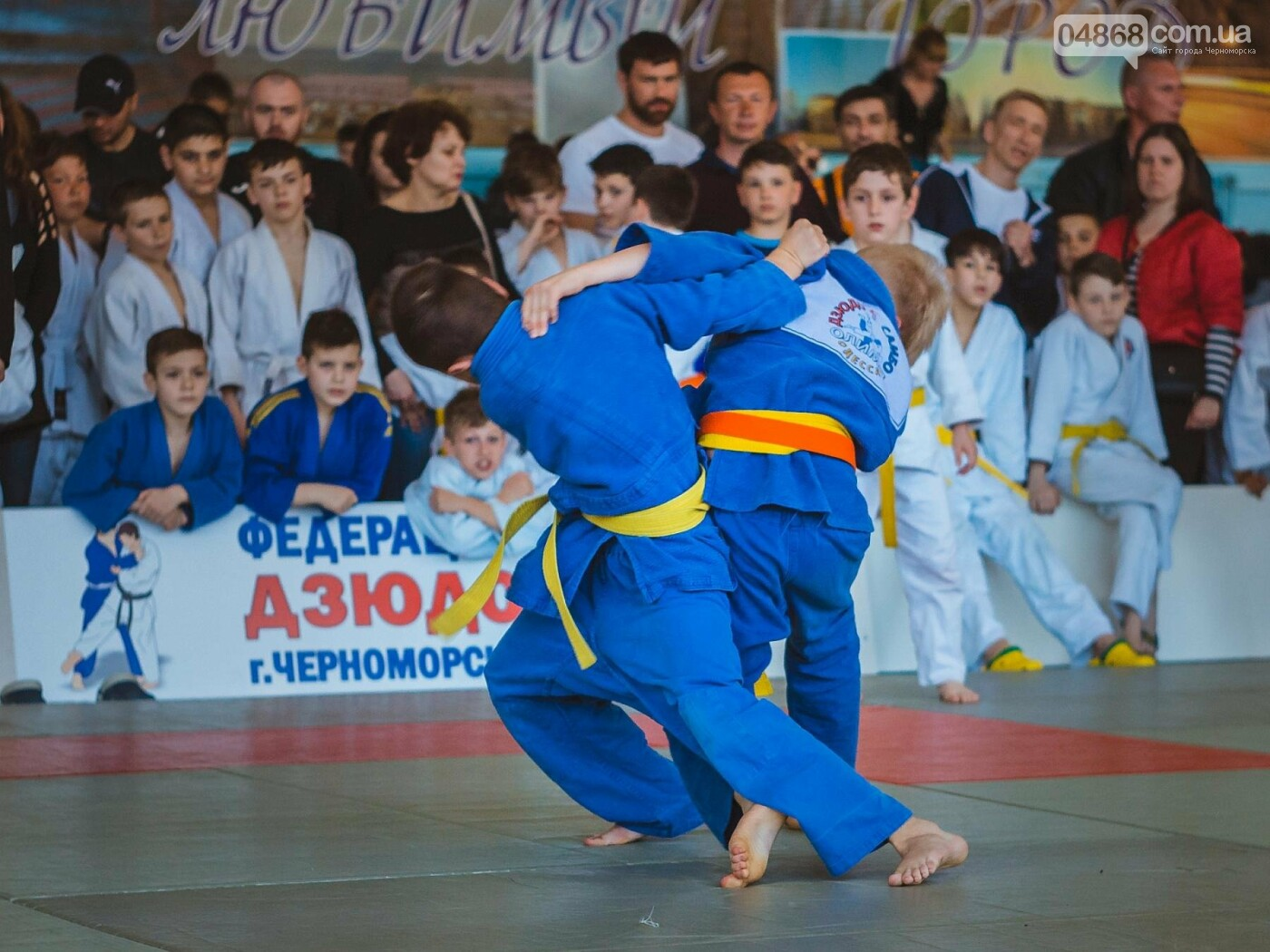 В Черноморске прошел турнир по дзюдо на Кубок мэра, фото-19