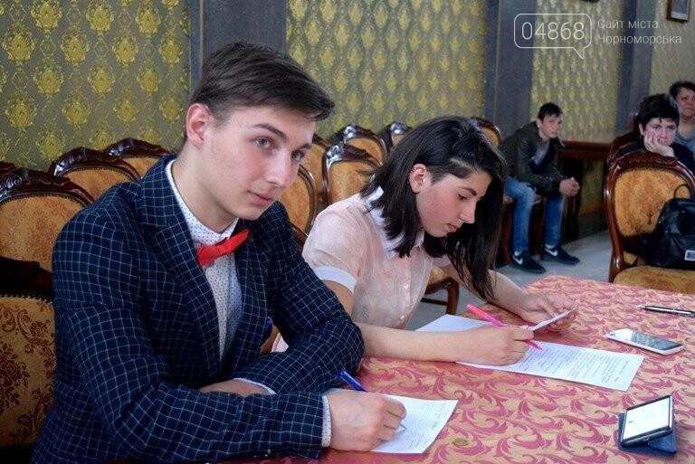 На интеллектуальном ринге, посвящённом истории Черноморска, встретились лидеры нашего города, фото-13