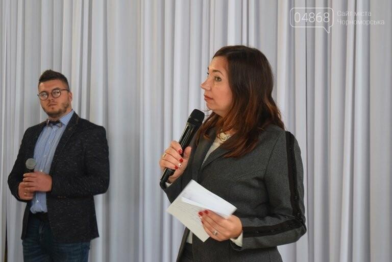 На интеллектуальном ринге, посвящённом истории Черноморска, встретились лидеры нашего города, фото-27