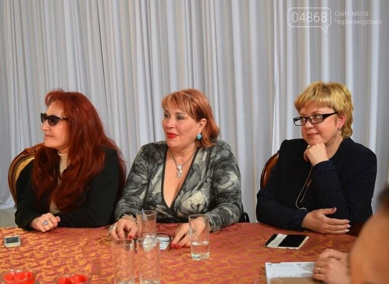 На интеллектуальном ринге, посвящённом истории Черноморска, встретились лидеры нашего города, фото-29