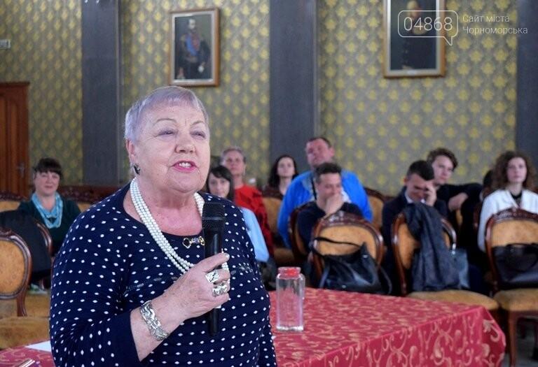 На интеллектуальном ринге, посвящённом истории Черноморска, встретились лидеры нашего города, фото-28