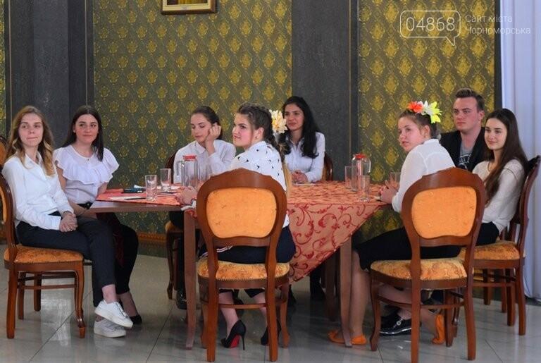 На интеллектуальном ринге, посвящённом истории Черноморска, встретились лидеры нашего города, фото-31