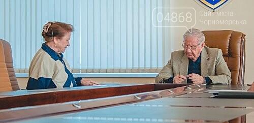 Городской голова провёл очередной приём граждан Черноморска, фото-3