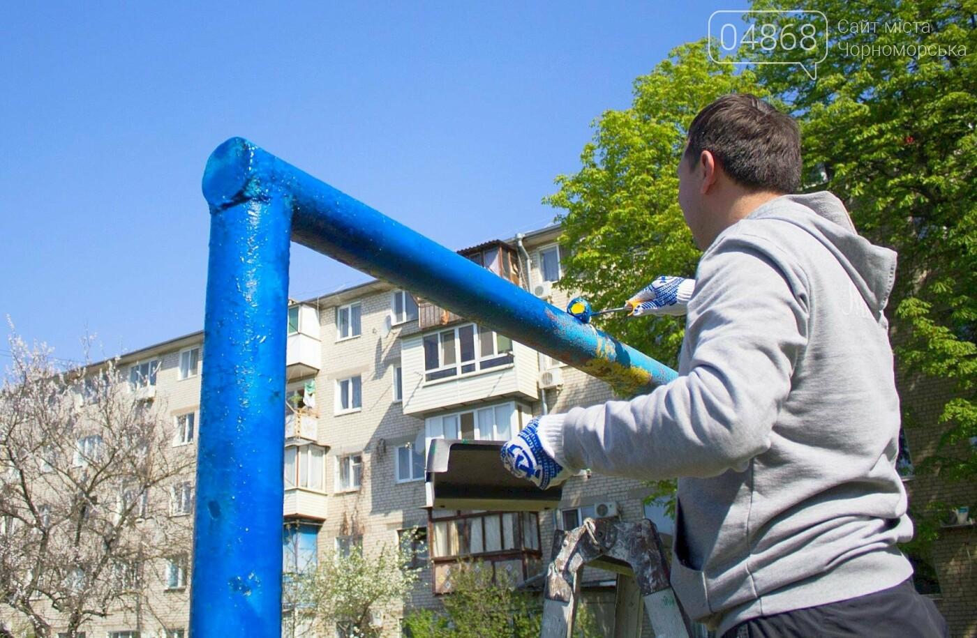 В Черноморске высажено 500 новых деревьев и кустарников, фото-14