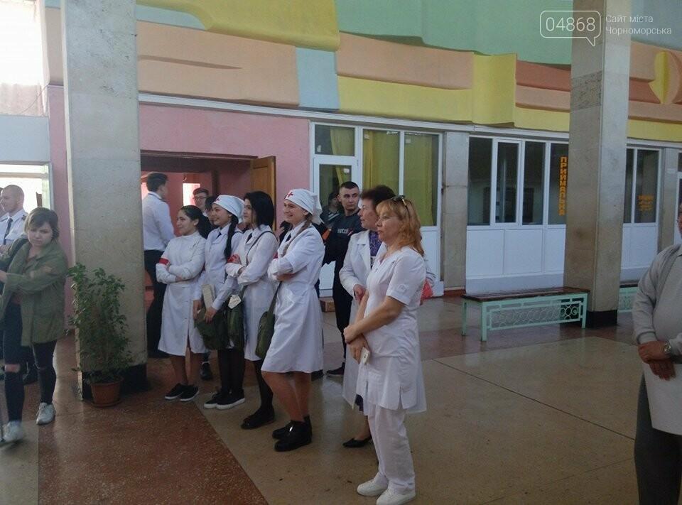 На базе Черноморского морского колледжа прошли показательные учения, фото-3