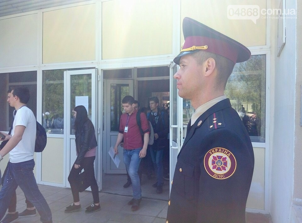 На базе Черноморского морского колледжа прошли показательные учения, фото-4