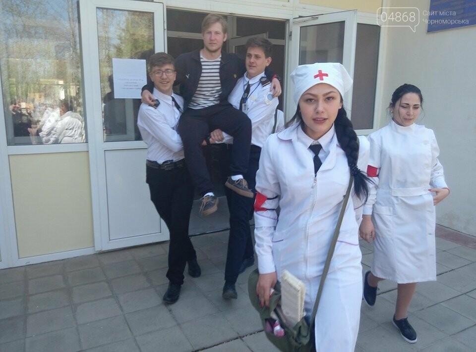 На базе Черноморского морского колледжа прошли показательные учения, фото-2