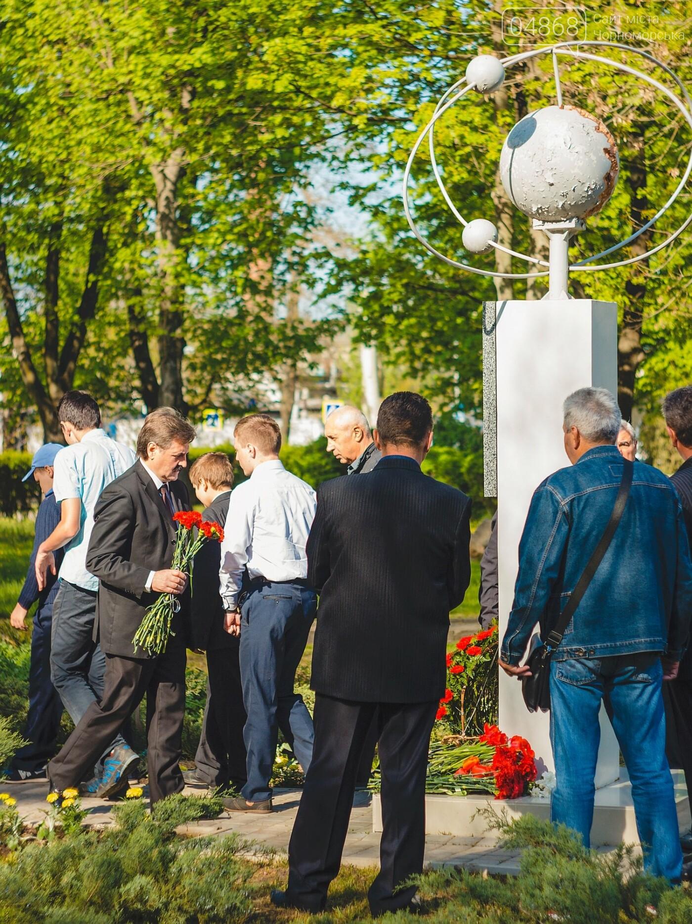 В Черноморске почтили память ликвидаторов Чернобыльской АЭС, фото-6