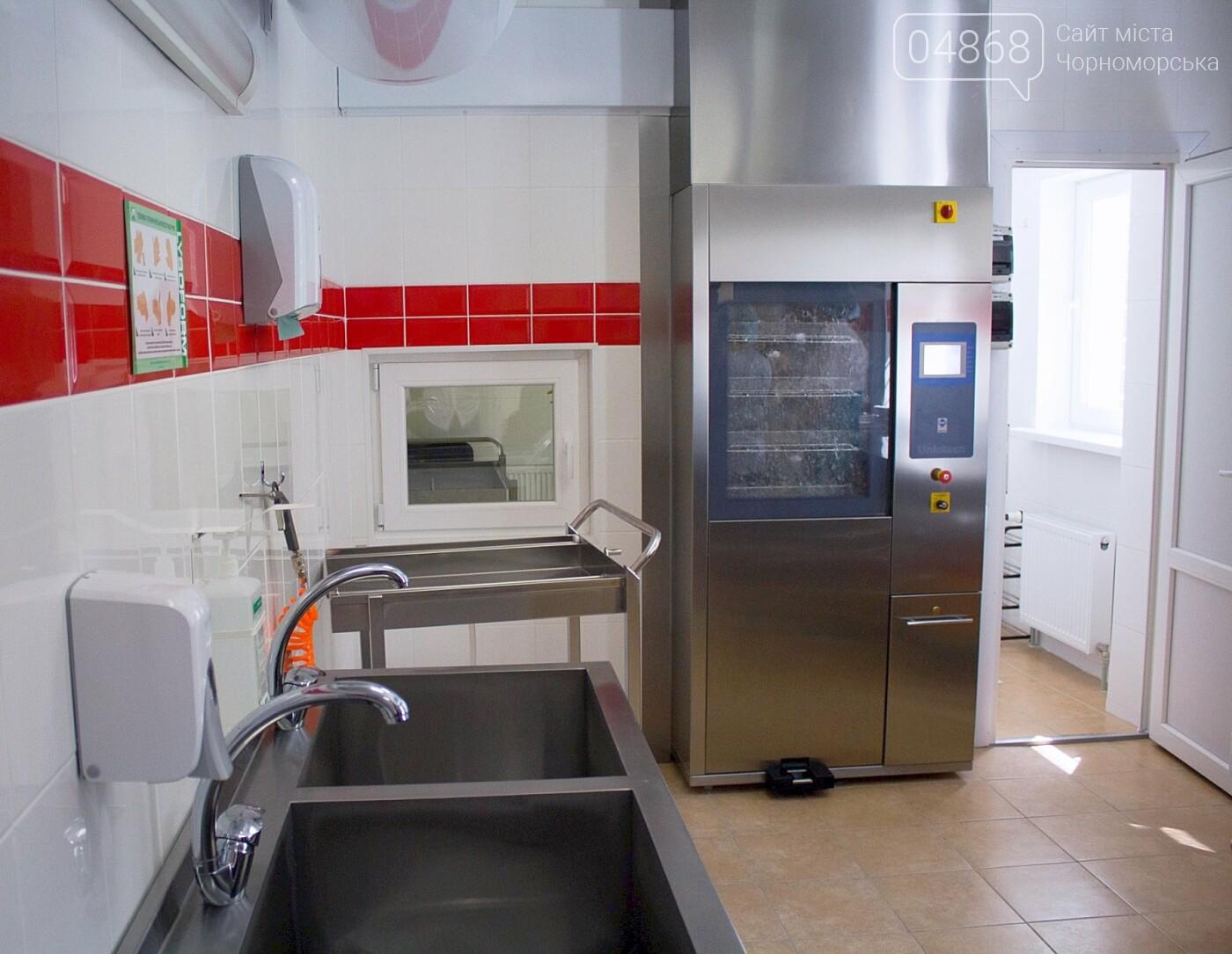 Мэр Черноморска поздравил медиков и посетил новое отделение больницы, фото-15