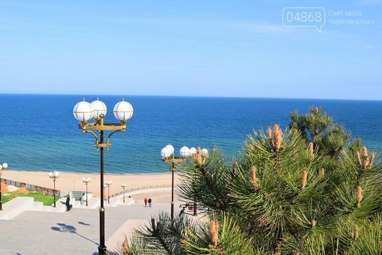 На майские праздники в Черноморске будет теплая и солнечная погода, фото-1