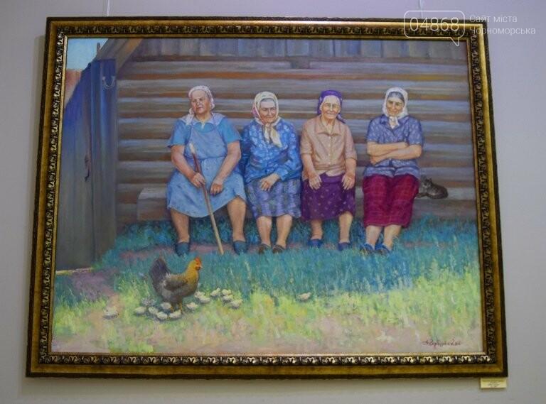 Художники Черноморска показали, как прекрасен этот мир, фото-14