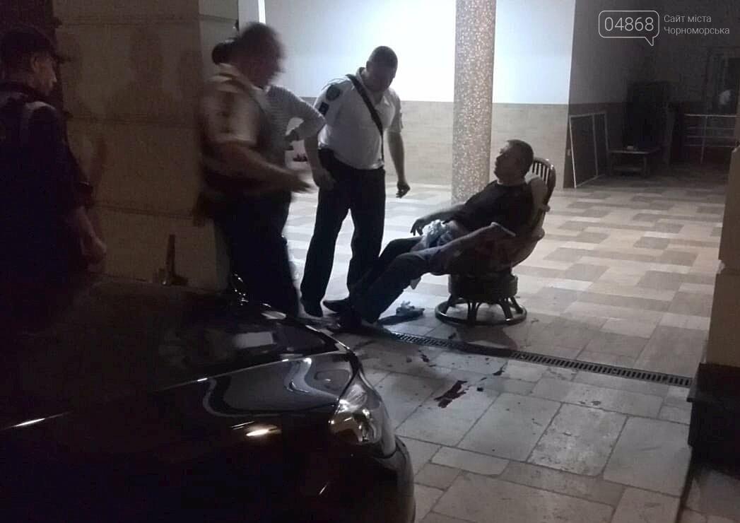 В Черноморске стреляли в депутата горсовета, фото-5