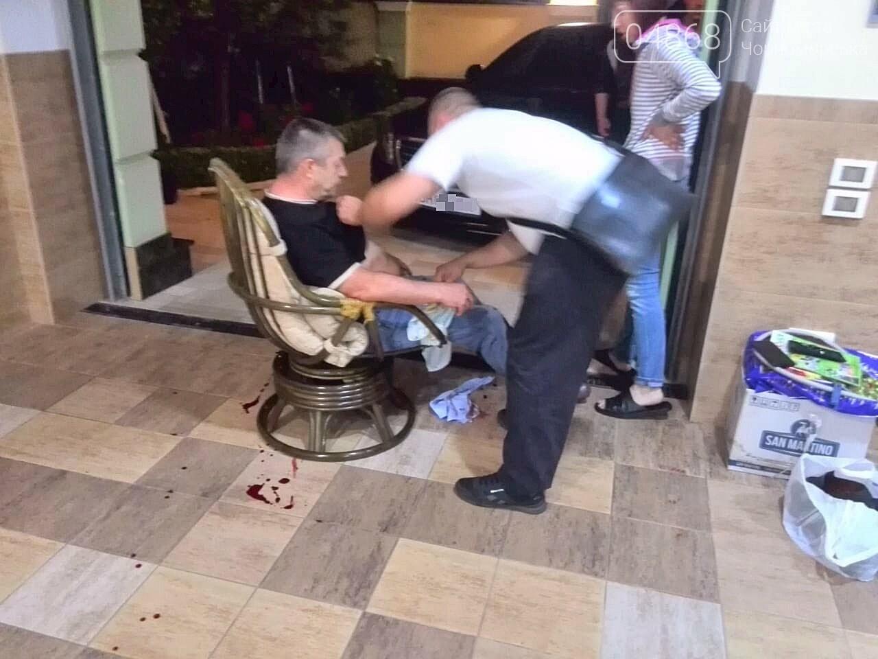В Черноморске стреляли в депутата горсовета, фото-6