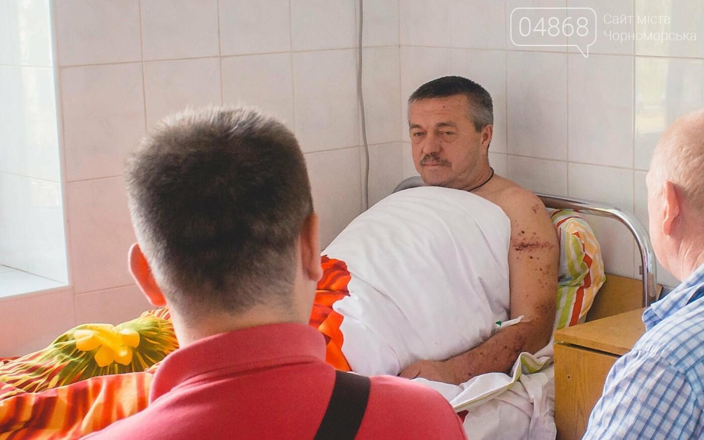 В Черноморске стреляли в депутата горсовета, фото-8