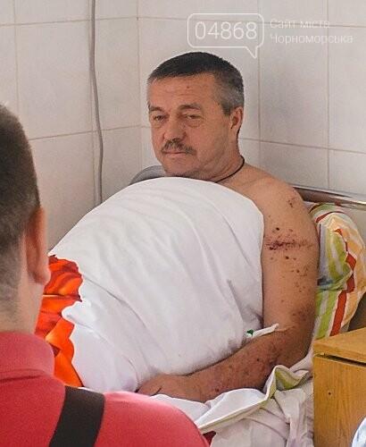 В Черноморске стреляли в депутата горсовета, фото-3