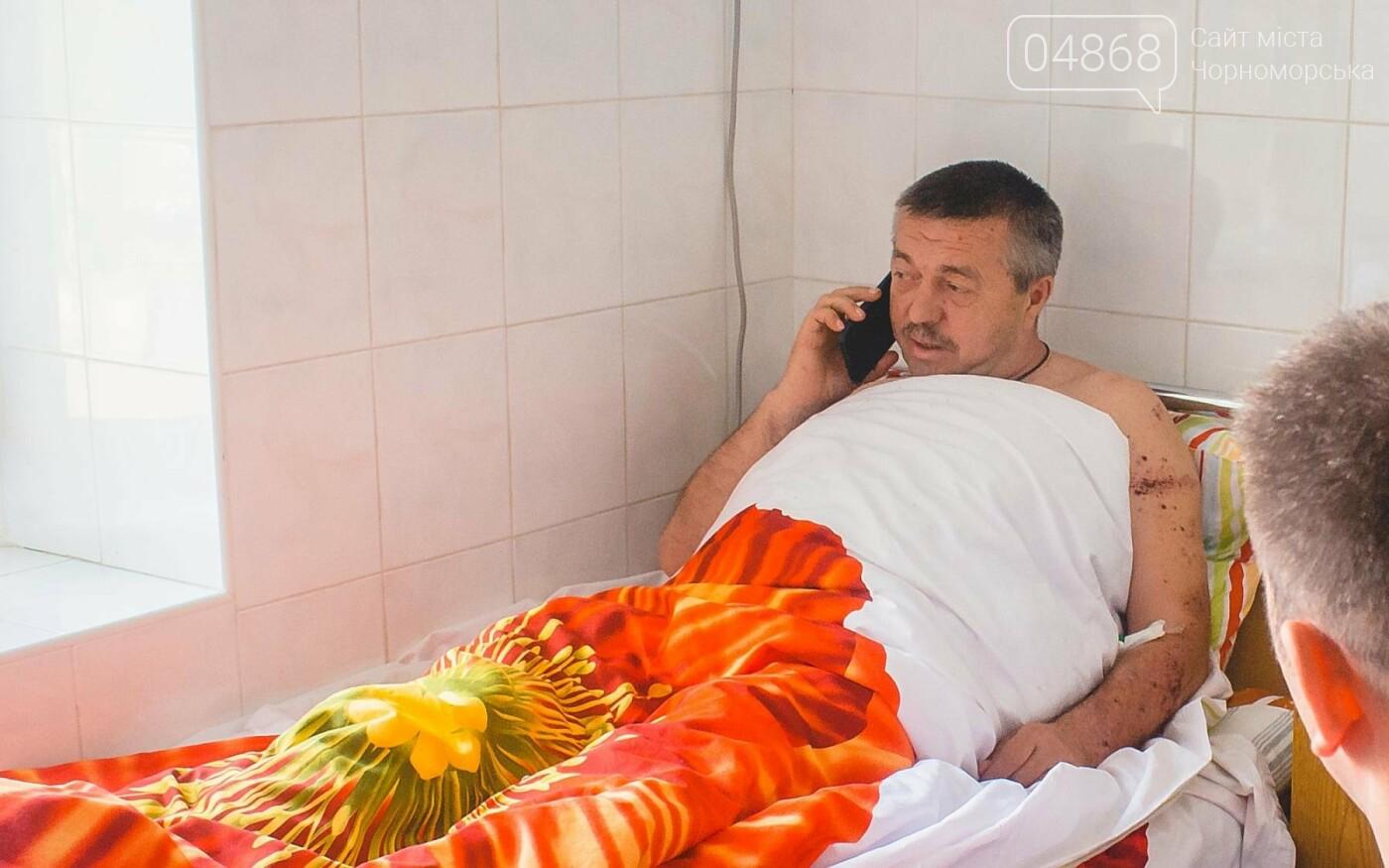 В Черноморске стреляли в депутата горсовета, фото-7