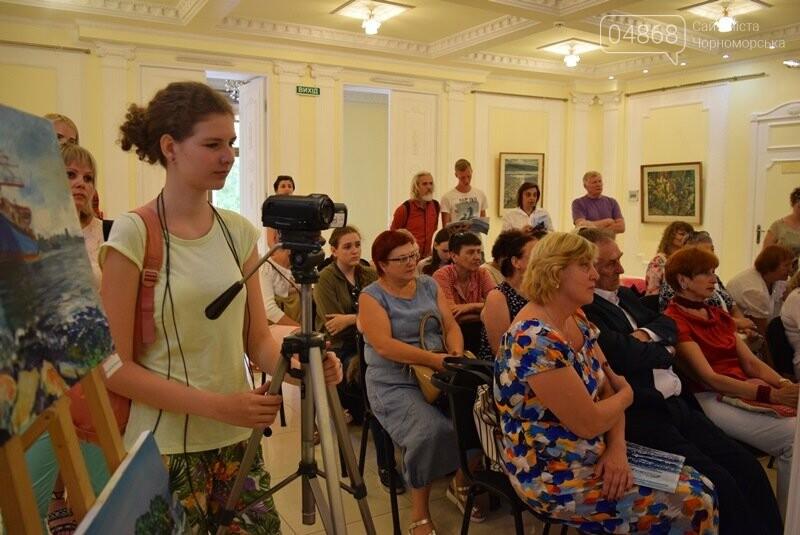 Художники Украины и США рисовали Черноморск, фото-5